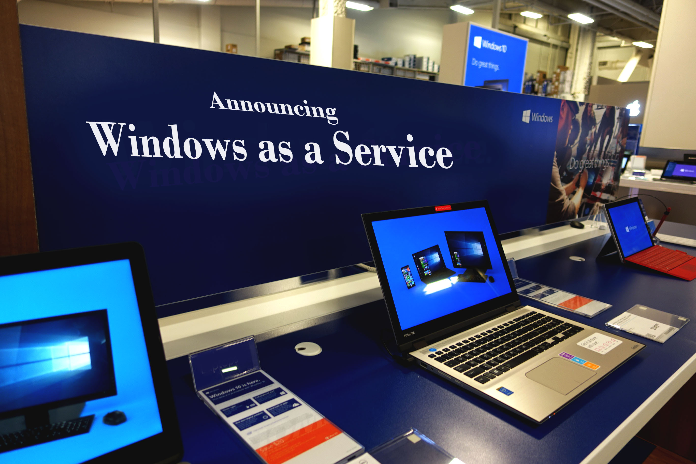 Reviewing Windows as a Service