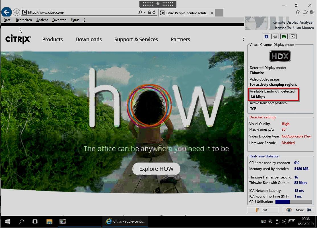 How Citrix HDX Improves Cloud Desktop Performance